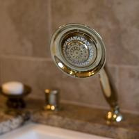 Tub hand shower